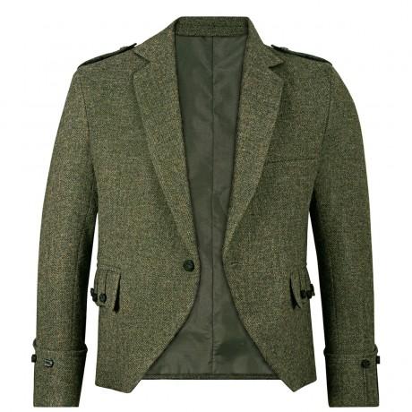Beaters Grey Shetland Tweed Argyll Kilt Jacket