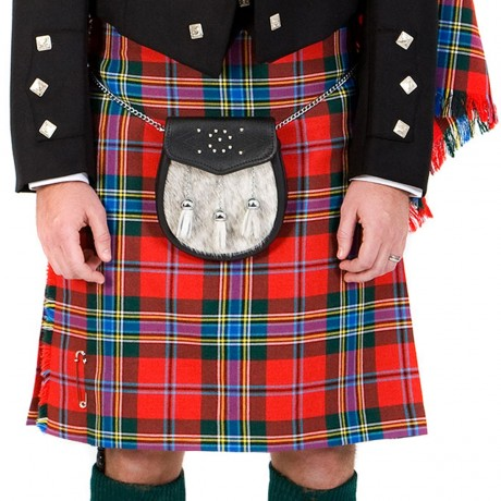 Mens Traditional 8 Yard Braeriach Medium Weight Kilt