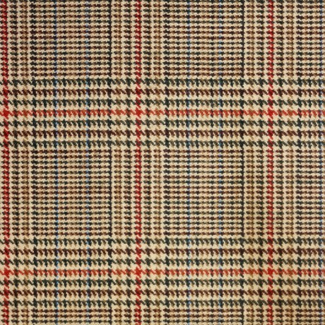Minto Check Tweed Light Weight Fabric