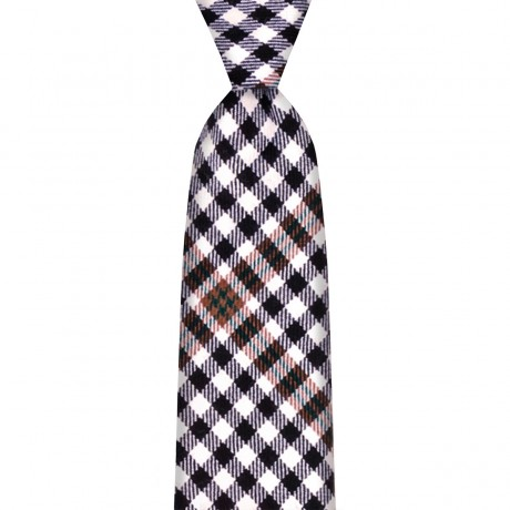 Burns Check Tartan Tie