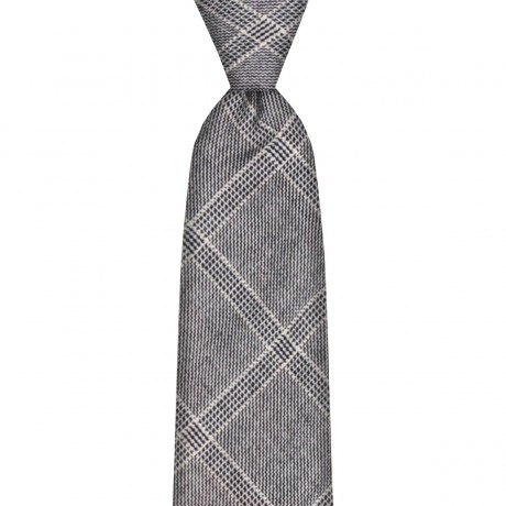 Dornoch Estate Check Wool Tie