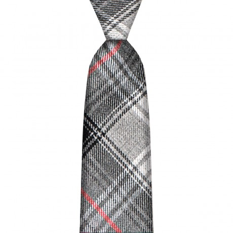 Lochcarron Graphite Tartan Tie