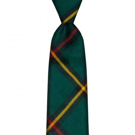 Marr Green Modern Tartan Tie