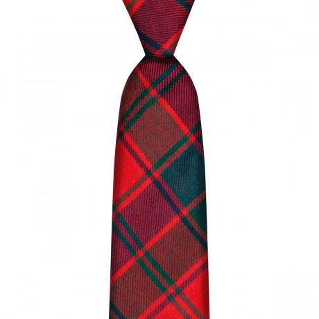 Robertson Red Modern Tartan Tie