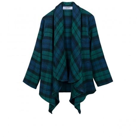 Black Watch Modern Tartan Lambswool Kerry Jacket