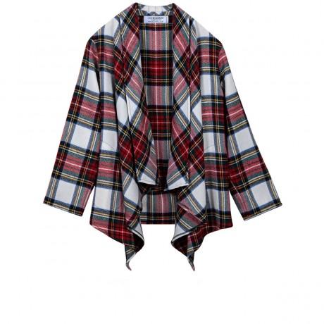 Stewart Dress Modern Tartan Lambswool Kerry Jacket