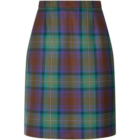 Ladies Tartan Straight Skirt