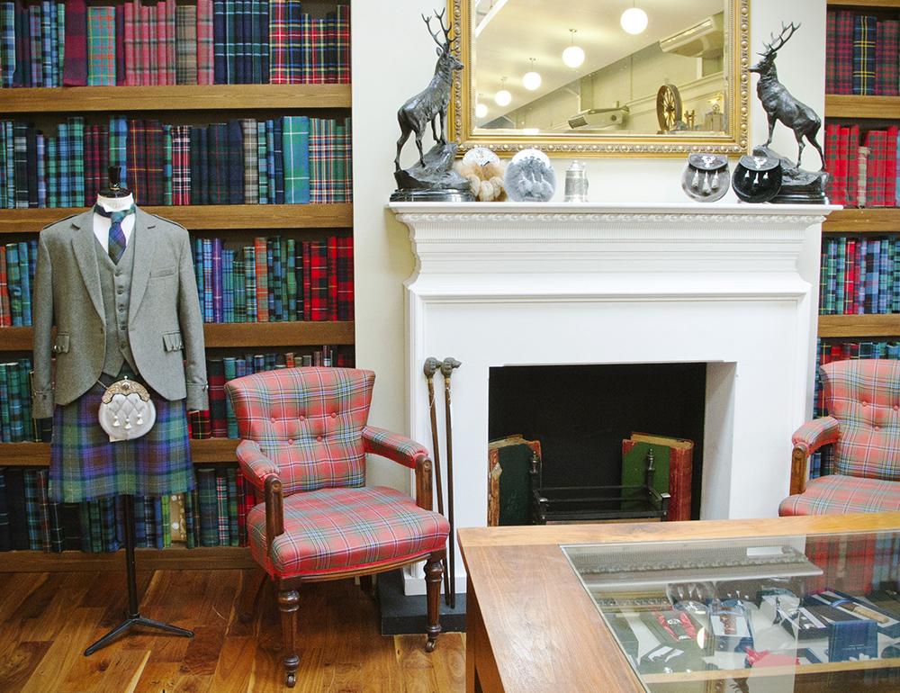 Tartans, Luxury Knitwear & More from Lochcarron Weavers Shop