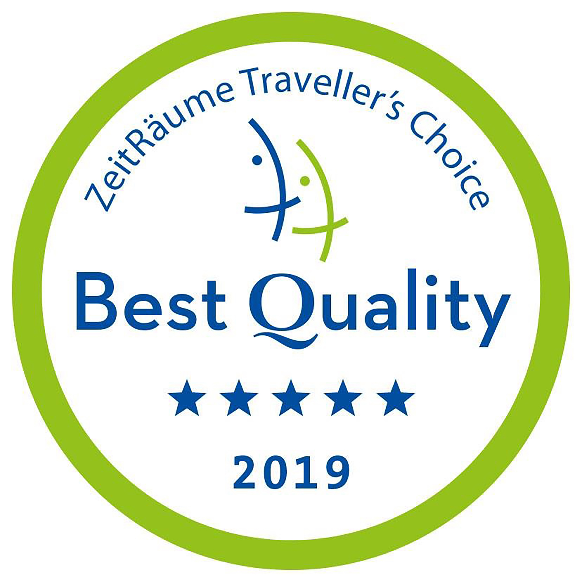 Zeitraume Travellers Choice Award 2019