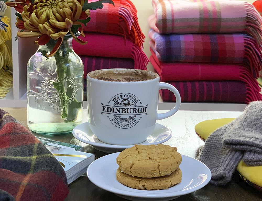 Lochcarron of Scotland's Coffee Shop In Selkirk