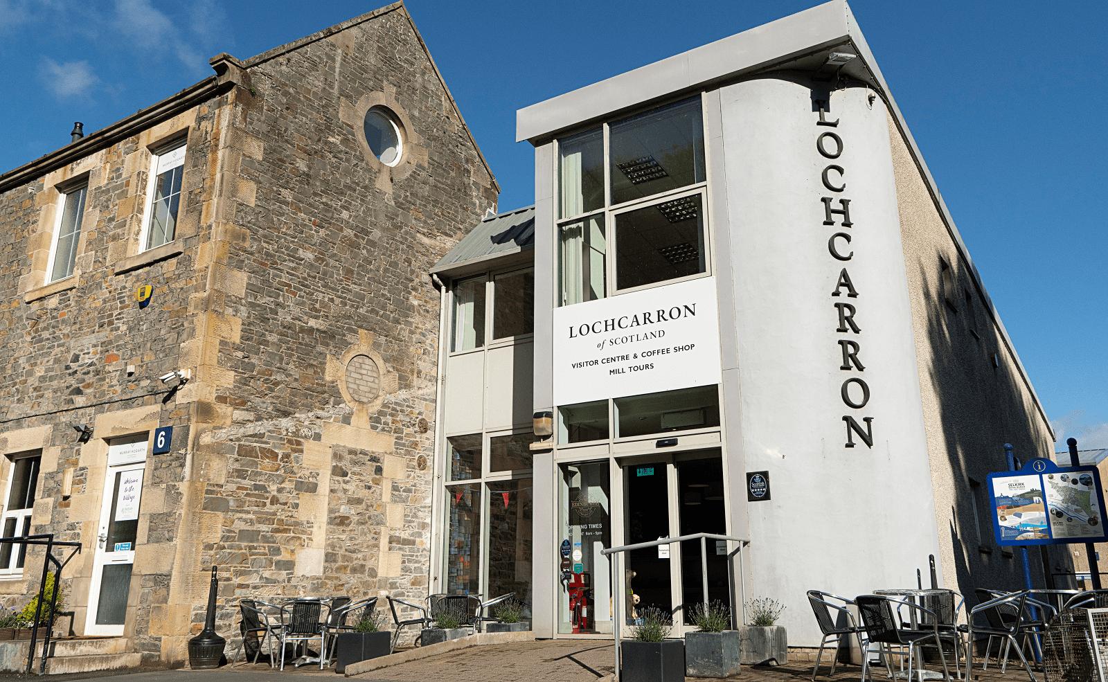 Lochcarron Visitor Centre Exterior