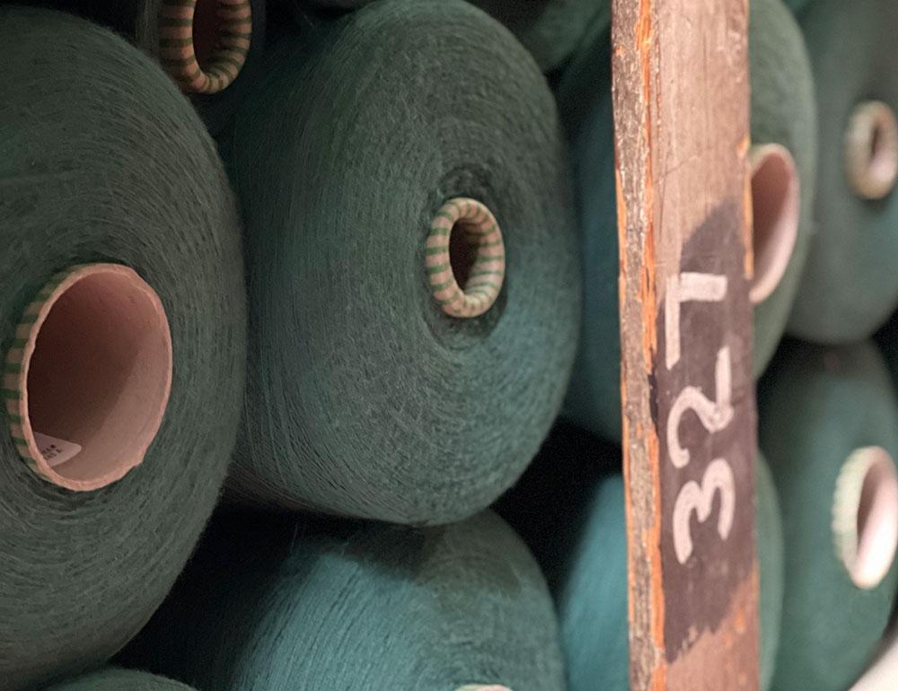 Cones of Yarn for Weaving Loom