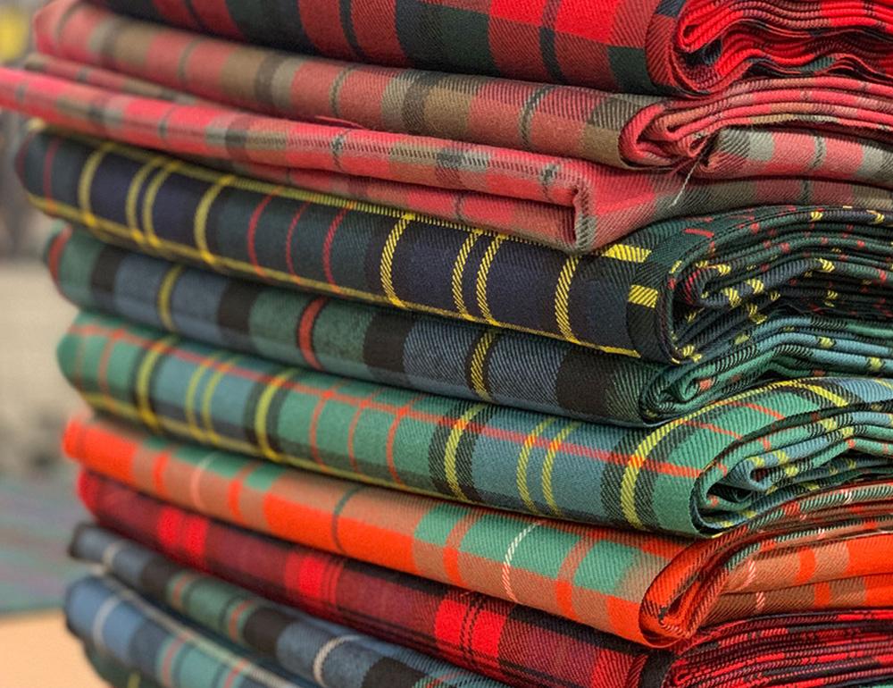 Weaving At Lochcarron of Scotlands Mill