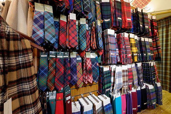 Kilts, Ties & Traditional Scottish Tartans from Lochcarron Weavers Shop