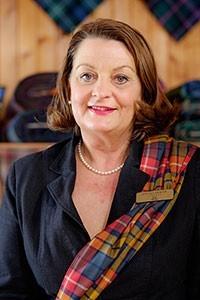 Lochcarron Weavers Shop Manager, Joy