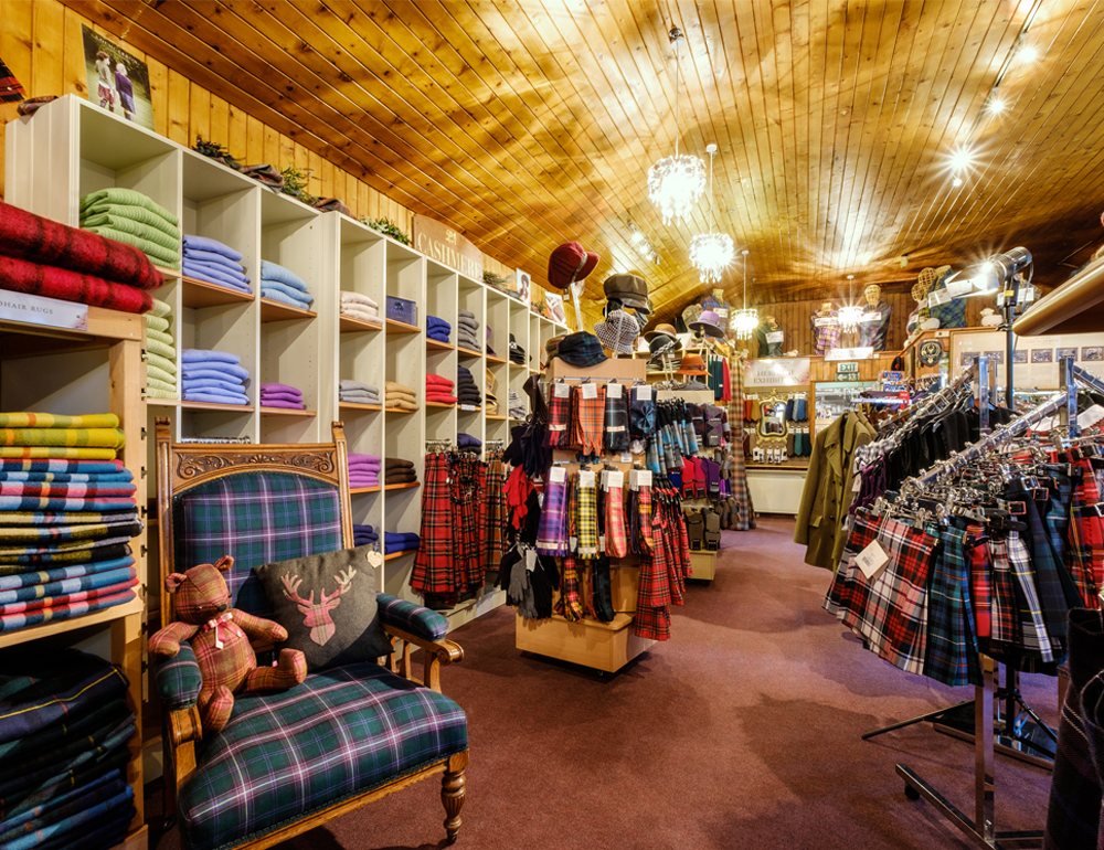 The Lochcarron Weavers Shop
