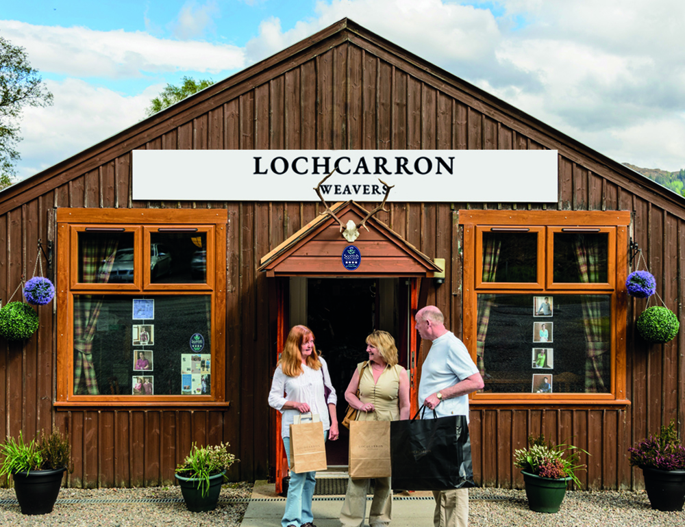 Tartans, Luxury Knitwear & More from Lochcarron Weavers Shop